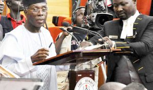 Minister agriculture Nigeria, Chief Audu Ogbeh
